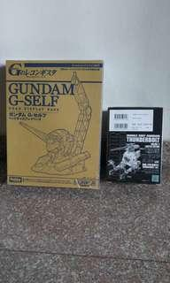 Limited RB-79 1/144 Ball / G-Self Gundam display stand