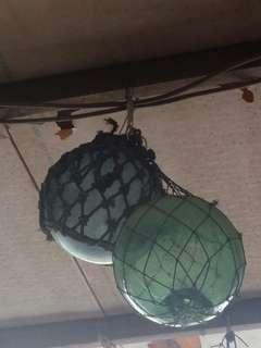 🚚 藍/綠中球25cm
