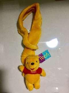 Authentic Brand New Winnie The Pooh Neck Warmer / Waist Belt