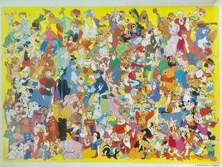 Brand New Authentic Japan 🇯🇵 Disney Characters 2000 Pieces Jigsaw Puzzle