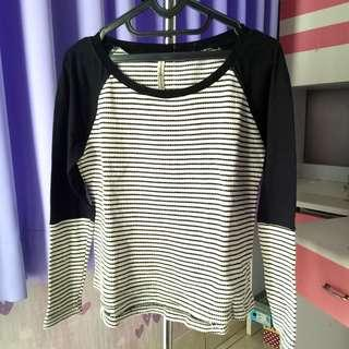 Stradivarius stripes sweatshirt