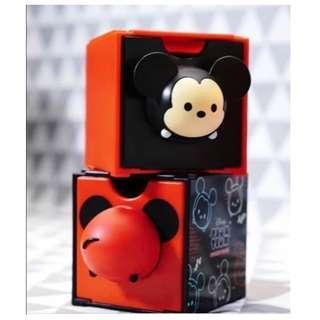 全新 7-11 x 迪士尼 Disney Tsum Tsum百變組合BOX 米奇老鼠 mickey  mouse 1對