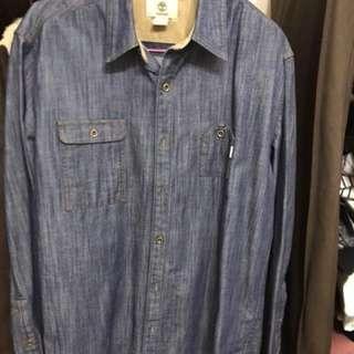 Timberland 牛仔襯衫