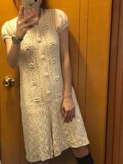 可愛針織裙褲