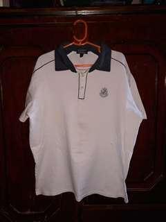 JAG white polo shirt