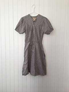 Fleur Wood Cotton Dress