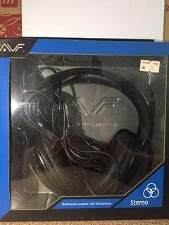 Multimedia Headset with stereo Microphone