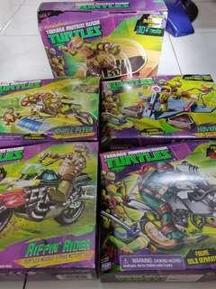 TMNT Ninja Turtles Vehicles Set