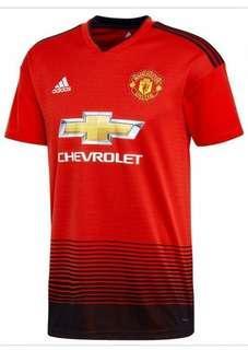 Man Utd home jersey