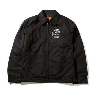 Anti social social club jacket