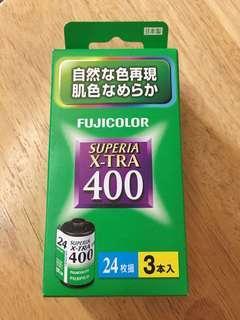 Fujicolor superia x-tra 400 24枚 富士菲林