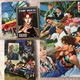 [WTS] EXO The War Regular A, B and Private Versions Albums