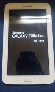 Samsung Galaxy Tab 3 Lite白色4G行貨7吋8GB可加記憶咭