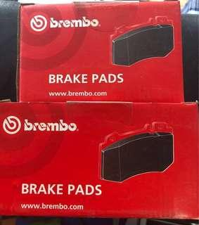 Toyota Harried ZSU60 Front and Rear Disc Brake Pad Brembo 2set