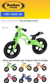 Pop Bike Balance Bike