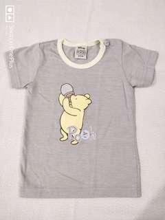 Pooh shirt and reusable diaper