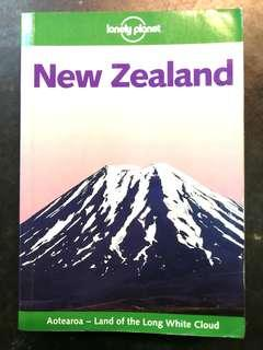 Lonely Planet New Zealand Travel Guide Book