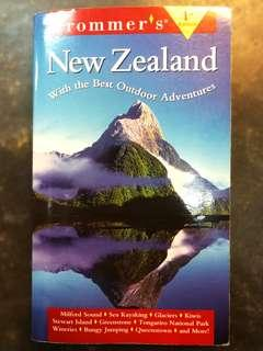 Frommer's New Zealand Travel Guide Book