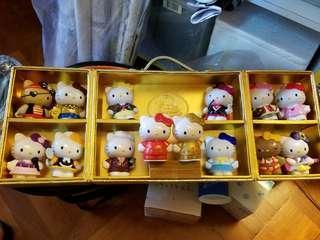 Hello Kitty 紀念版金光舞壹