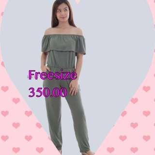 Brand New Jumpsuit Off Shoulder