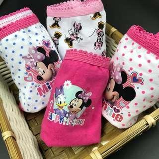 Minnie 女童內褲