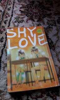 Shy love (comic cerpen)
