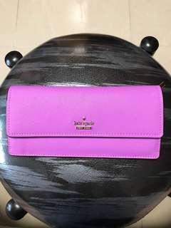 Kate Spade Wallet Long Purple 長銀包 紫色