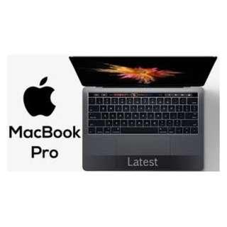 new macbook pro with touchbar (grey) usual $2588