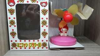 全新 sanrio mm 1998 melody 風扇機 日本版罕有