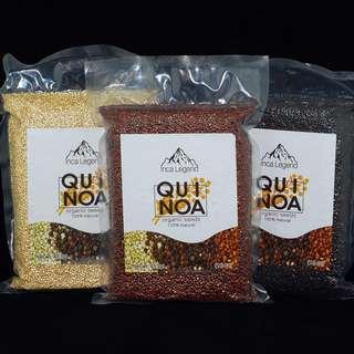 Quinoa Black/White/Red 300grs/package (黑/白/紅藜麥), 每色每包hkd75 (優惠期內, 天然健康食品全線原價 25%off)