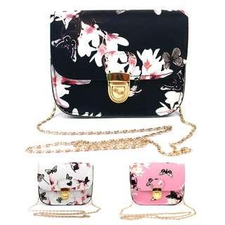 New sling bag Satchel Butterfly design 50% discount PROMOTION