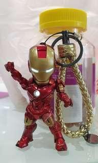 Iron Man MK4 Key Chain with LED Light
