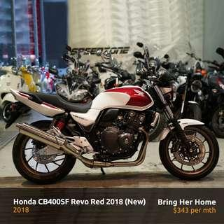 Honda CB400SF Revo Red 2018 (New)