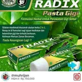 Radix Pasta Gigi(RPG)