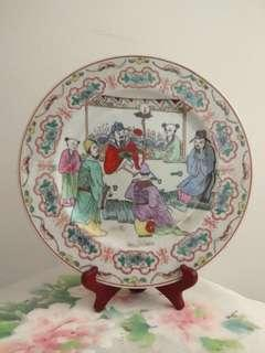 Porcelain Plate only 10.3 寸26cm 乾隆年製款瓷盤