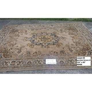 assorted floor carpets (batch 2)