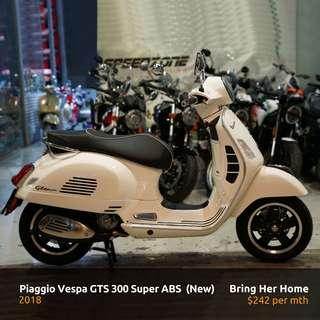 Piaggio Vespa GTS 300 Super ABS 2018 (New)