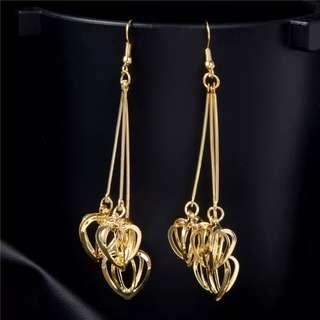 gorgeous drop ear rings