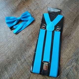 $9 both New instock adult suspenders and bowtie set