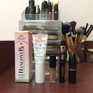 Primer / Lipstick / Mascara