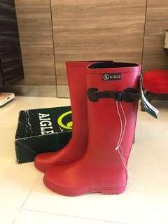 全新Aigle 雨靴 Wellies 雨鞋 原價1480 boots
