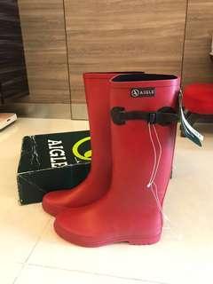 全新Aigle 雨靴 Wellies 雨鞋 boots 原價1480