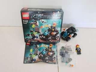 Lego 70160 Ultra Agents Riverside Raid - assembled 100% complete