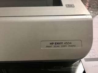 Hp Envy 4504 Printer and Scaneer