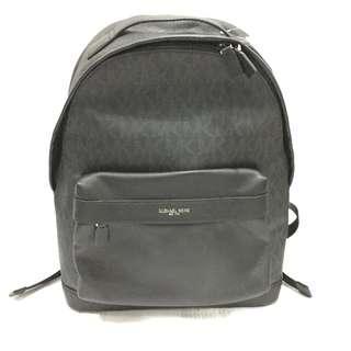Michael Kors Black Leather Russel Backpack