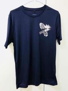 NUS Engineering Run Blue Dri Fit Shirt Finisher Tee NUS Student