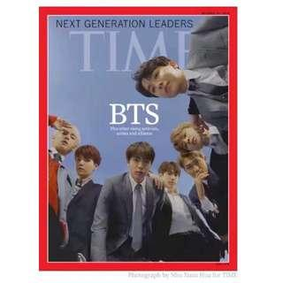 [Ready stock] BTS Time Magazine October 22, 2018 Edition (Malaysia)