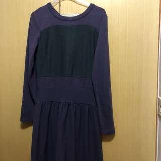 秋裝精選Mastina mid long dress 40*100cm