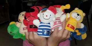 Patrick & Friends Finger Puppets 1 set