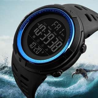50m Waterproof Men's Digital Sports Watch